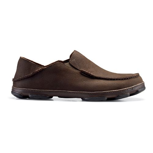 Mens OluKai Moloa Casual Shoe - Seal Brown 9