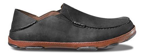 Mens OluKai Moloa Casual Shoe - Black/Toffee 9