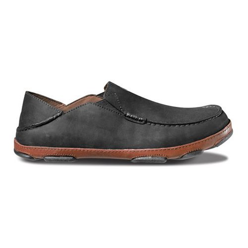 Mens OluKai Moloa Casual Shoe - Black/Toffee 11.5