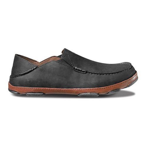 Mens OluKai Moloa Casual Shoe - Black/Toffee 14