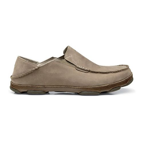 Mens OluKai Moloa Casual Shoe - Clay/Mustang 7