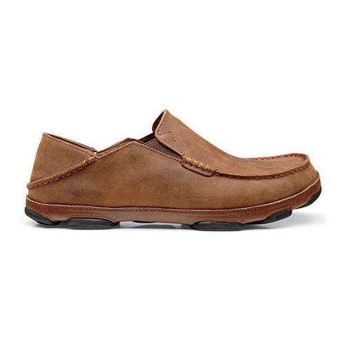 Mens OluKai Moloa Casual Shoe - Henna/Toffee 9