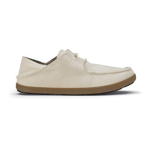 Mens OluKai Ohana Sneaker Canvas Casual Shoe - Tapa/Tapa 11.5