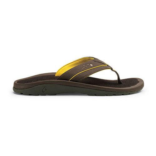 Mens OluKai Kia'i II Sandals Shoe - Dark Java/Dark Java 11