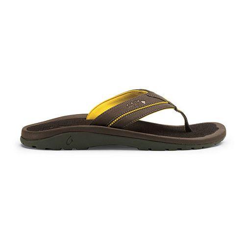 Mens OluKai Kia'i II Sandals Shoe - Dark Java/Dark Java 8