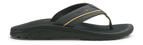 Mens OluKai Kia'i II Sandals Shoe - Dark Shadow/Dark Shadow 13