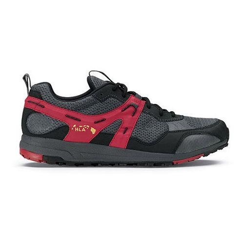 Mens OluKai Kia'i Trainer II Cross Training Shoe - Dark Shadow/Deep Red 8