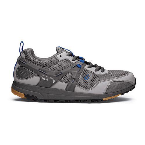 Mens OluKai Kia'i Trainer II Cross Training Shoe - Neutral Grey/Pacific Blue 11