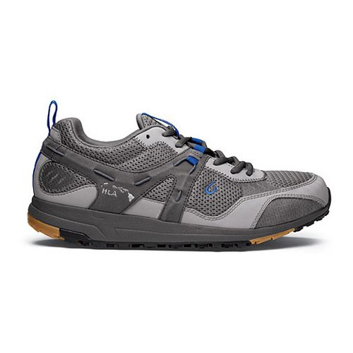 Mens OluKai Kia'i Trainer II Cross Training Shoe - Neutral Grey/Pacific Blue 8