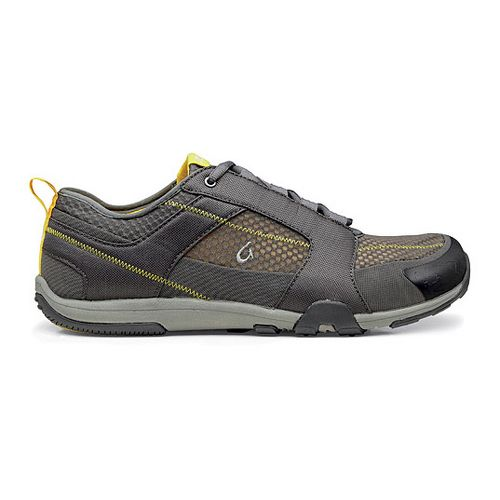 Mens OluKai Kamiki Cross Training Shoe - Charcoal/Sun 14