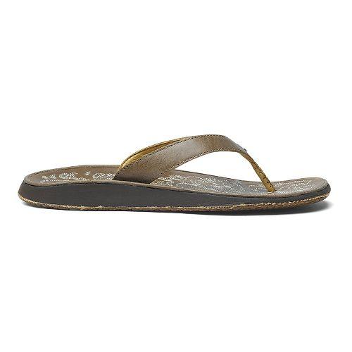 Womens OluKai Paniolo Sandals Shoe - Clay/Clay 10