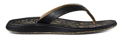 Womens OluKai Paniolo Sandals Shoe - Black/Black 6