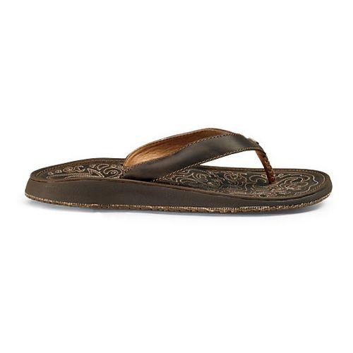 Womens OluKai Paniolo Sandals Shoe - Dark Java/Dark Java 7