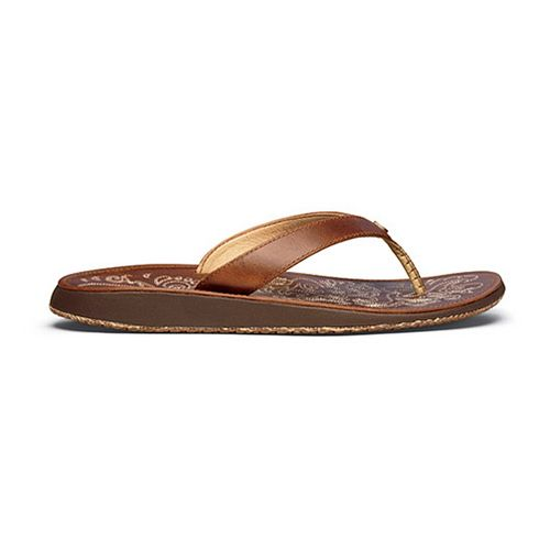 Womens OluKai Paniolo Sandals Shoe - Natural/Natural 5