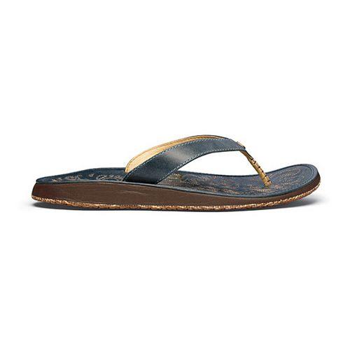 Womens OluKai Paniolo Sandals Shoe - Pale Ocean/Pale Ocean 8