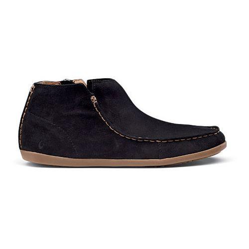 Womens OluKai Wali Casual Shoe - Black/Tan 8