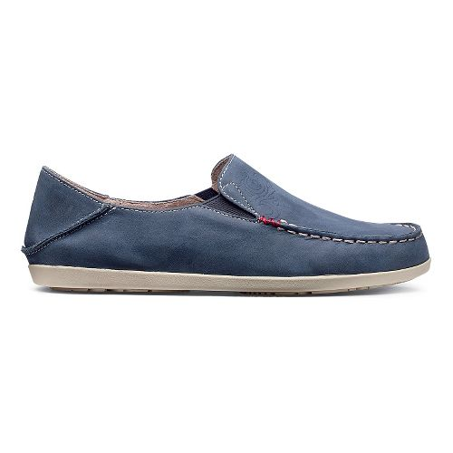 Womens OluKai Nohea Nubuck Casual Shoe - Trench Blue/Tapa 6