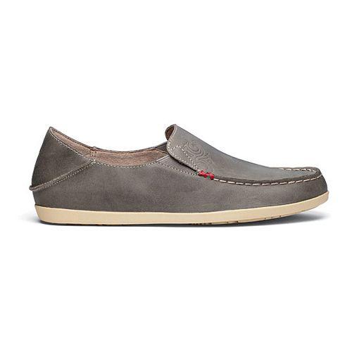 Womens OluKai Nohea Nubuck Casual Shoe - Basalt/Tapa 5