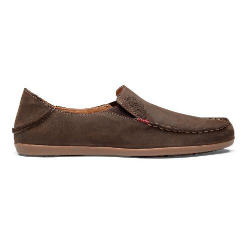 Womens OluKai Nohea Nubuck Casual Shoe - Dark Java/Tan 9