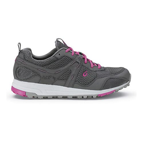Womens OluKai Kia'i Trainer II Cross Training Shoe - Charcoal/Orchid 6