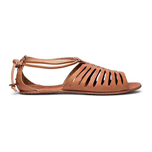Womens OluKai Hikina Sandals Shoe - Ginger/Ginger 8