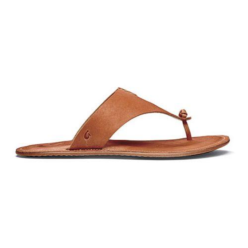 Womens OluKai Hema Sandals Shoe - Ginger/Ginger 8