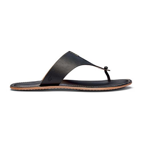 Womens OluKai Hema Sandals Shoe - Night/Ginger 10