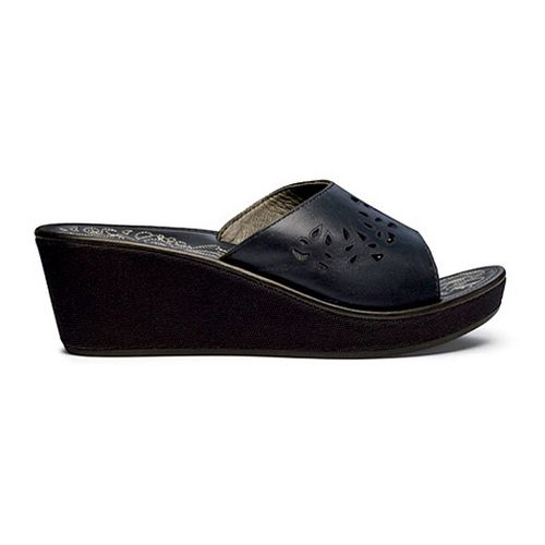 Womens OluKai Noho Lio Sandals Shoe - Black/Black 9