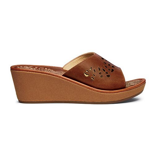 Womens OluKai Noho Lio Sandals Shoe - Natural/Natural 5