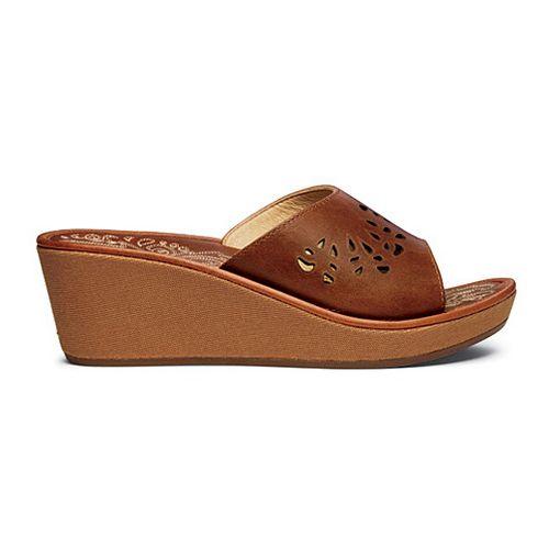Womens OluKai Noho Lio Sandals Shoe - Natural/Natural 5