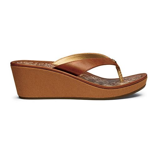 Womens OluKai Kaula Lio Sandals Shoe - Natural/Natural 5
