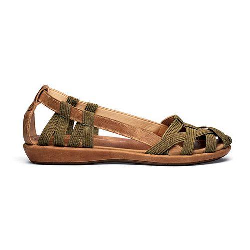 Womens OluKai Ulana Sandals Shoe - Tan/Tan 5