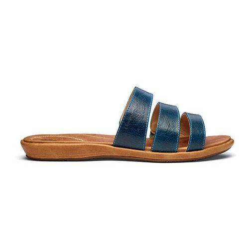 Womens OluKai Manana Sandals Shoe - Pale Ocean/Tan 9