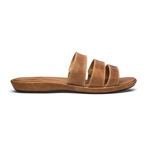 Womens OluKai Manana Sandals Shoe - Tan/Tan 11