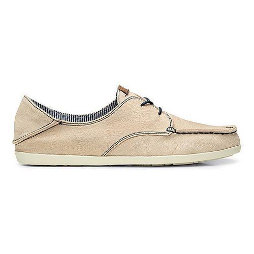 Womens OluKai Heleuma Canvas Casual Shoe - Tapa/Navy 9.5