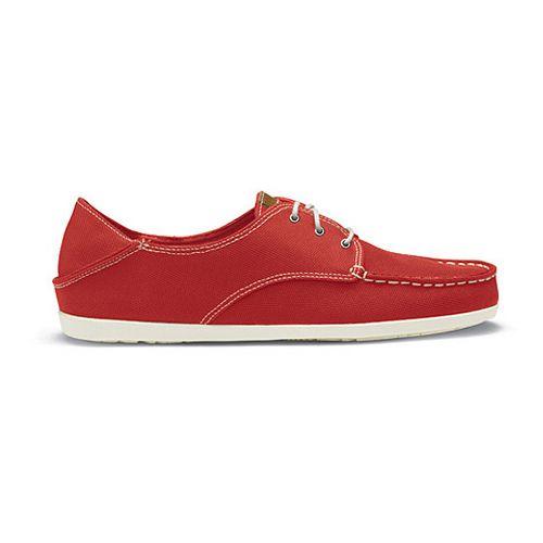 Womens OluKai Heleuma Mesh Casual Shoe - Cinder/Off White 6.5