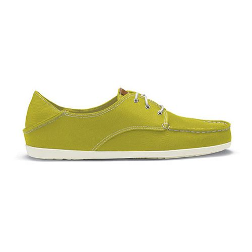 Womens OluKai Heleuma Mesh Casual Shoe - Sulphur/Off White 8