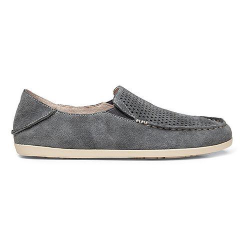 Womens OluKai Nohea Perf Casual Shoe - Basalt/Tapa 7.5