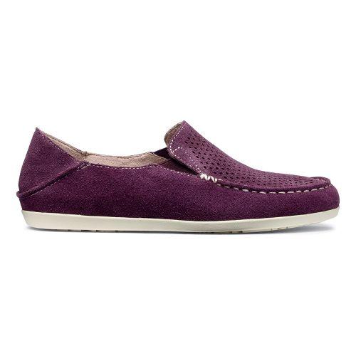 Womens OluKai Nohea Perf Casual Shoe - Fig/Off White 8.5
