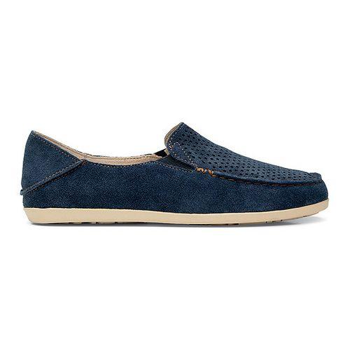 Womens OluKai Nohea Perf Casual Shoe - Navy/Honey 7