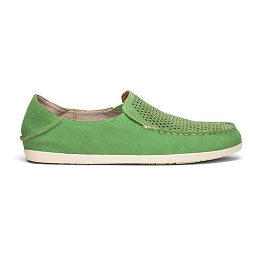 Womens OluKai Nohea Perf Casual Shoe - Sour Tart/Off White 7