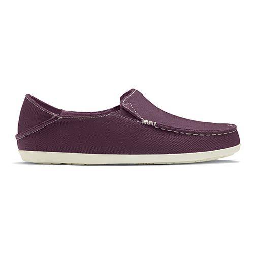 Womens OluKai Nohea Mesh Casual Shoe - Plum/Off White 7.5