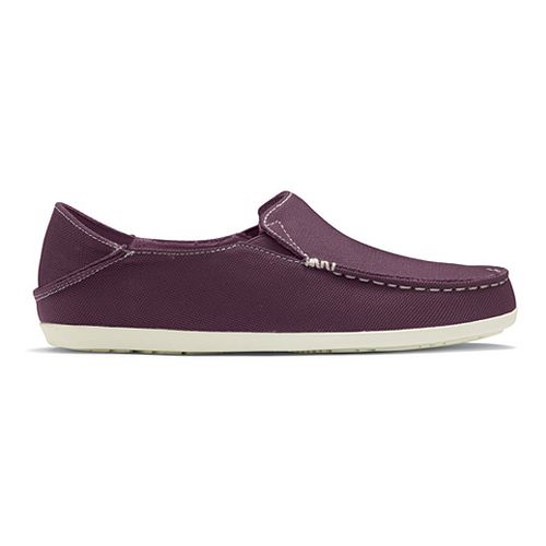 Womens OluKai Nohea Mesh Casual Shoe - Plum/Off White 8