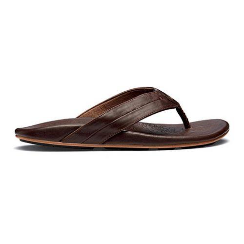 Womens OluKai Punono Sandals Shoe - Dark Java/Dark Java 12