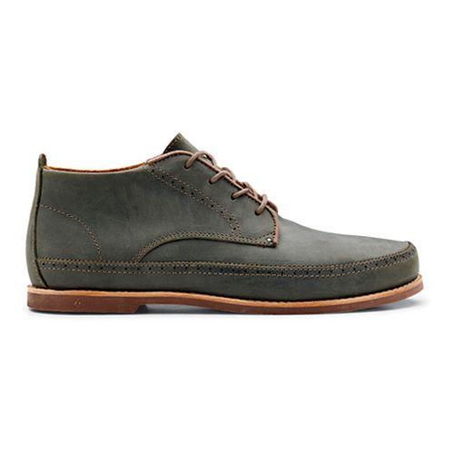 Mens OluKai Honolulu Boot Casual Shoe - Iron/Mustang 13