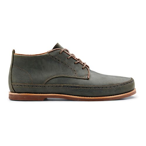 Mens OluKai Honolulu Boot Casual Shoe - Iron/Mustang 7