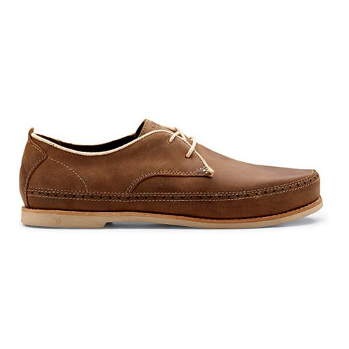 Mens OluKai Honolulu Lace Casual Shoe - Henna/Silt 7