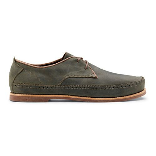 Mens OluKai Honolulu Lace Casual Shoe - Iron/Mustang 14