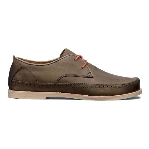 Mens OluKai Honolulu Lace Casual Shoe - Seal Brown/Seal Brown 13