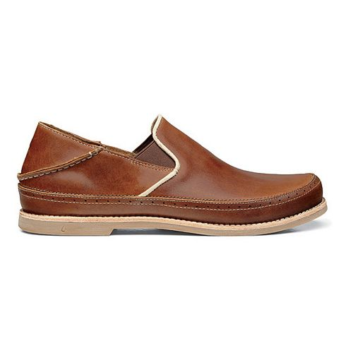 Mens OluKai Honolulu Slip-On Casual Shoe - Henna/Silt 8